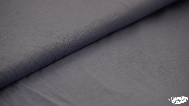 JERSEY - Uni blau meilliert - Slubjersey - T - Shirt Jersey